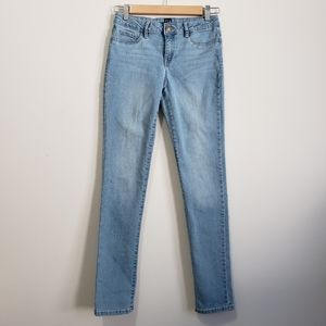 Gap Kids denim stretch super skinny jeans 14